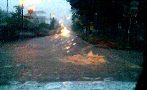 Neustadt unter Wasser