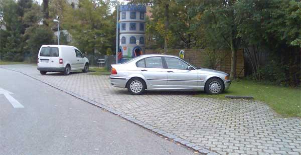 Parken will gelernt sein