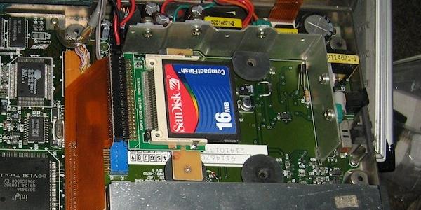 CF-Festplatte an 386er