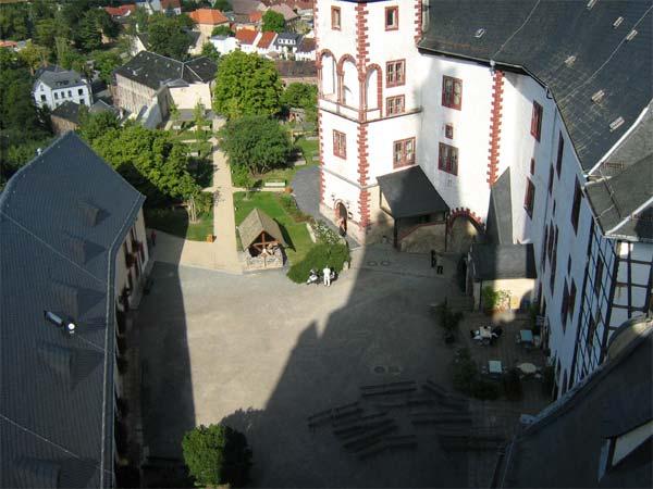 Osterburghof vom Turm aus