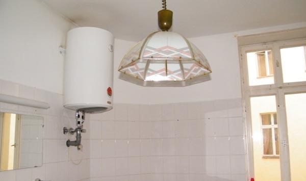 alte Badlampe
