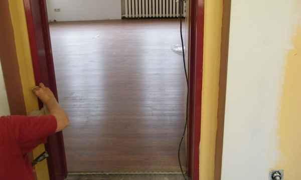 Wohnzimmerboden