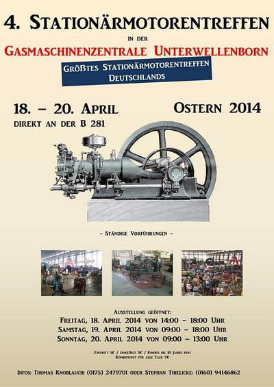 Stationärmotorentreffen Plakat
