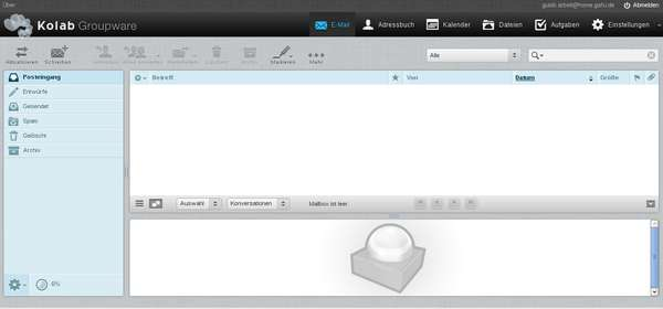 Roundcubemail Webmailer