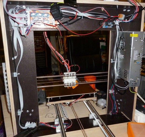 Verkabelung für elektrische Heizbänder mit Lüfter