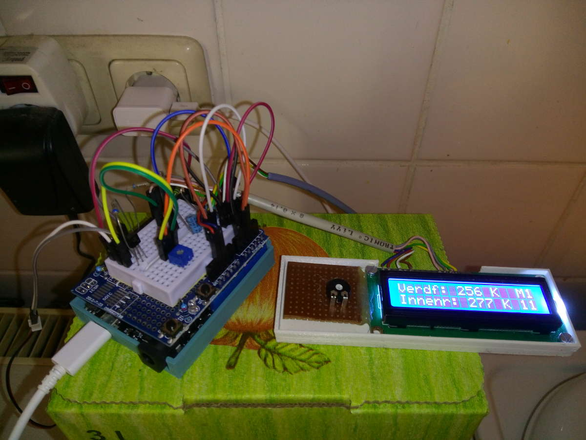 Aufbau Kühlschrank Thermostat : Bauknecht kühlschrank kaputt. erstmal mikrocontroller dazu tun teil